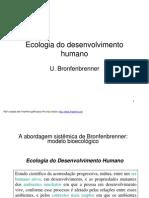 EcologiadoDesenvolvimentoHumano