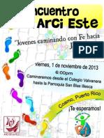 Promocion 1er EncuentPromo Encuentro 1ro Arci Este