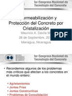 5 Cristalización - Impermeabilización y Protección del Concreto
