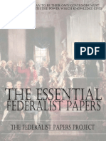 Essential Federalist Papers