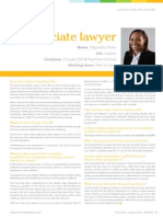 Day in the Life of - Waynette Hollis - Associate Lawyer