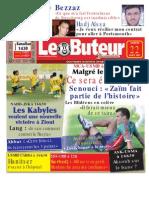 LE BUTEUR PDF du 22/08/2009