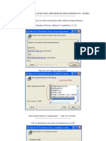 Manual de Instalacion Del Servidor de Espaciodeejays