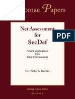 Net Assess for SecDef