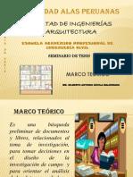 Marco teórico UAP 2013-2