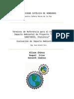 Términos de Referencia para el Estudio de Impacto Ambiental de Proyecto Relleno Sanitario