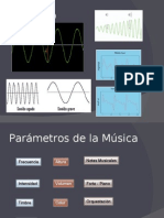 Parametros del sonido