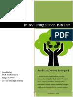 Introducing Green Bin, Inc.