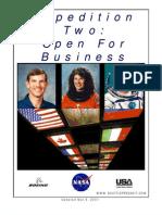 NASA ISS Expedition 2 Press Kit
