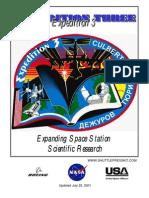 NASA ISS Expedition 3 Press Kit