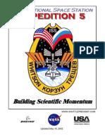 NASA ISS Expedition 5 Press Kit
