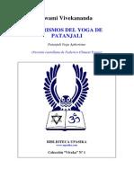 Vivekananda Patanjali Yoga Sutras Spanish