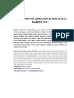 2012 Sad Guias de Practica Clinica Dm1