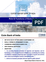 Role & Functions of Exim Bank-1