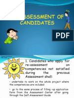 Reassessment & Appeal of Candidates