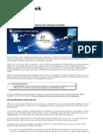 how to make windows home server into a domain controller