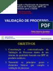 Validação de Processo - 2013