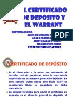 Diapositivas Warrant