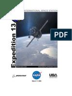 NASA ISS Expedition 13 Press Kit