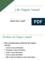 Produtos de Origem Animal