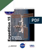NASA ISS Expedition 15 Press Kit