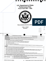 T5 B71 Misc Files Re DOS Visa Policy 3 of 3 Fdr- DOS 2001-2002 Performance Plan- 8 Pgs 597