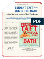 President Taft is Stuck in the Bath Press Release
