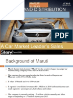 Maruti sales process