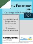 Catalogue de Formation 2014