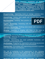 11 Evolution of Marketing Organization & Marketing Audit