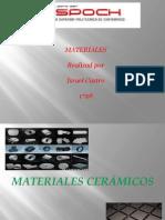 Materiales Ceramicos,Compuestos,Polimeros