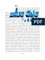 Sem Report on Blue eye technology