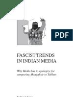 Fascist Trends in Indian Media