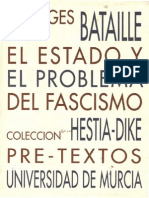116794355 Georges Bataille El Estado y El Problema Del Fascismo