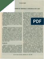 Giovanna Giglioli - El Papel Del Leninismo en Historia y Conciencia de Clase
