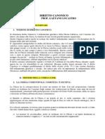Lezioni Di Diritto Canonico Pedro Lombardia Prof PDF