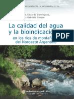 2006-Calidad de Agua y Bioindicacion en Rios de Montana