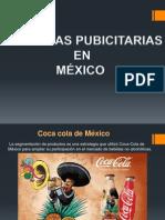 CAMPAÑAS PUBICITARIAS EN MÉXICO