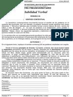 Solucionario – CEPREUNMSM – 2011-II – Boletín 3 – Áreas Academicas A, D y E