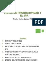 Indice de Productividad y El Ipr
