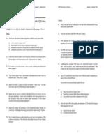Seminar 7 Questions