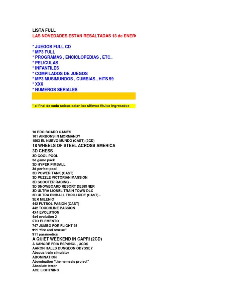 best sneakers 38e41 a13db Lista Flavio Completo 23-02-04