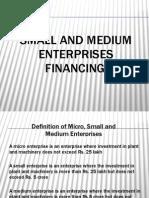 SME Financing (2007 Format)