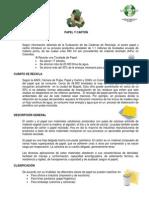 Ficha Papel y Cartón