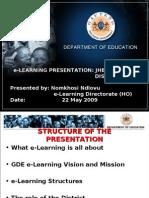 E-learning Imbizo Presentation (Jc)
