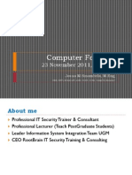 Computer Forensic Josua M Sinambela