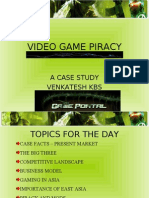 Video Game Piracy