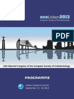 ESE Scientific Programme Lisbon 2013