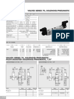 Pneumatic Valve Metalwork-10ser70valves