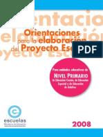 Pro Yec to Escuela Pri Maria